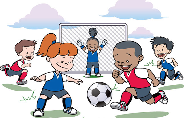 copii fotbal