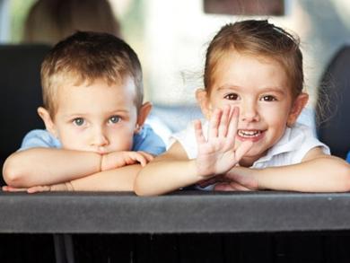 Copiii si calatoriile cu masina