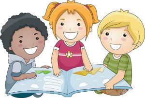 copii citesc