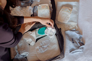 Se apropie momentul nasterii! Aveti bagajul facut? Ce nu trebuie sa va lipseasca din el!